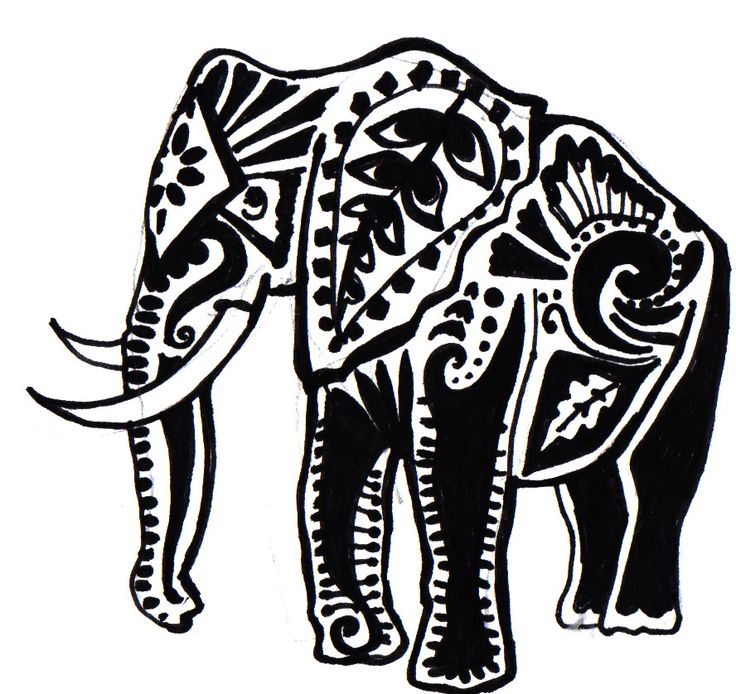 1000+ Images About Elephant & Lotus Tattoo Ideas On