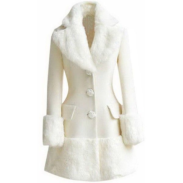 1000  ideas about White Fur Coat on Pinterest | Fur coats White