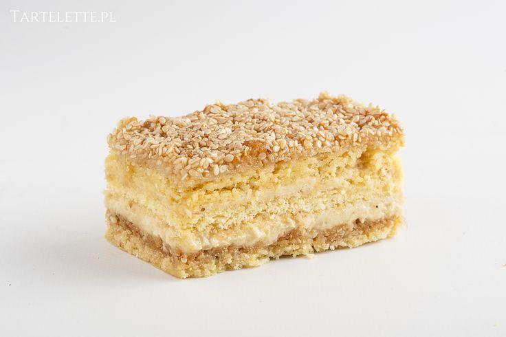 ciasto sezamowo- chałwowe