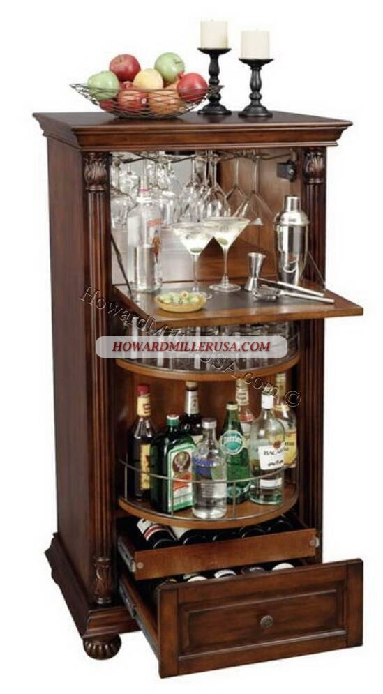 wine bar cabinet 695078 howard miller wine and spirits storage this clever 29292