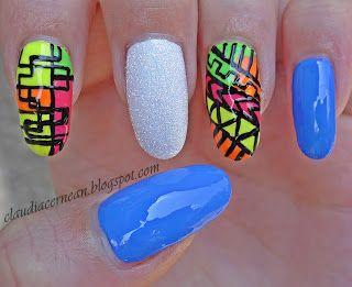 Nail Art Tutorials: Tribal  #nail #nails #nailart