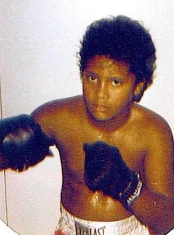 @TheRock 8 years old. I'd sing Elvis. Do Richard Pryor monologues. Act out scenes from ROCKY. Then go eat Pop Tarts. #TBT