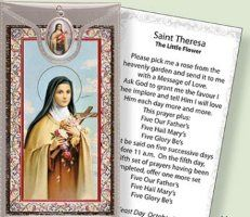 Prayer Card to St.Theresa.