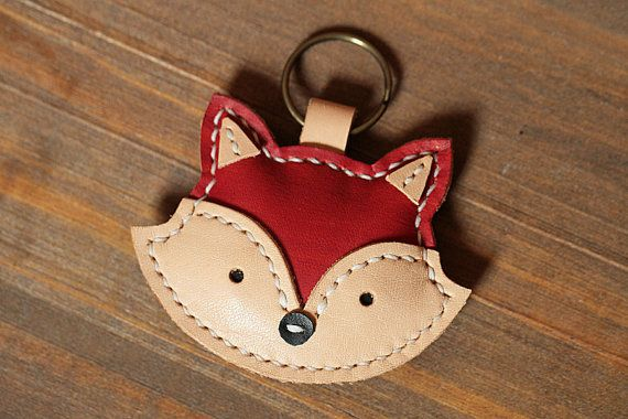 100% Handmade Corgi Key chains - Cute Animal Key ring - Fox Bag Charm Good Luck Party Favors Gift