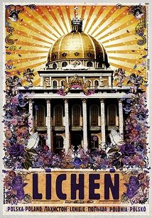 Ryszard Kaja - Licheń, plakat z serii Polska, Ryszard Kaja