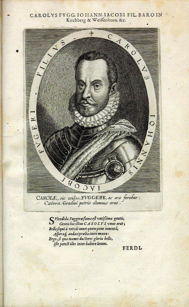 Karl Fugger, Freiherr in Kirchberg und Weißenhorn (1543-1580)