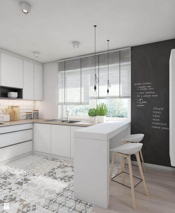 46 Beispiele für moderne weiße Küchenschränke