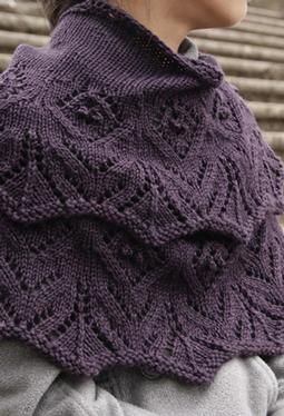 Tulipetta Shawl - Knitting Patterns and Crochet Patterns from KnitPicks.com