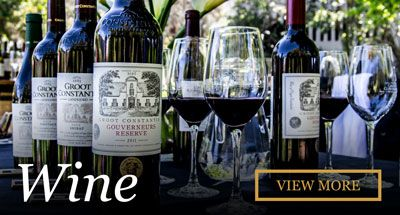 The Oldest Wine producing Estate in South Africa, creating award winning wines for 330 years.
