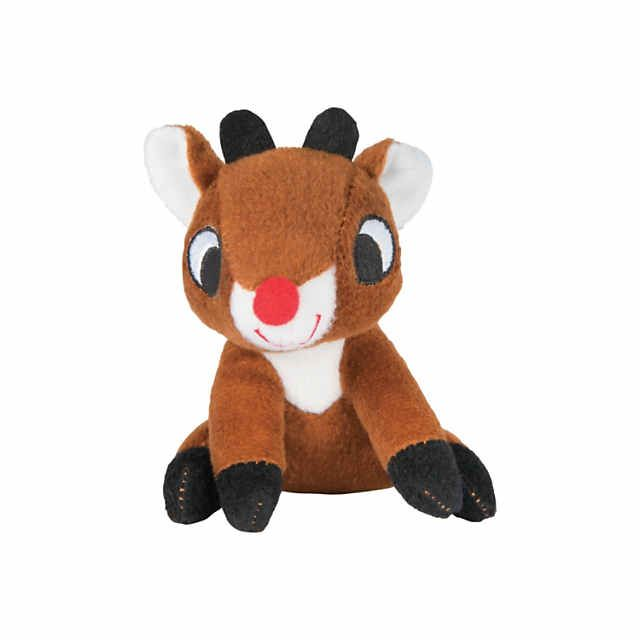 cdfacaf48695d Mini stuffed Rudolph the red-nosed reindeer