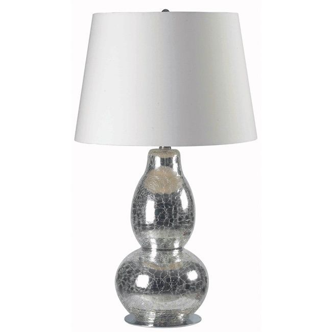 You Will Love The Elegance This Chrome Table Lamp Brings To Your Room Lamps
