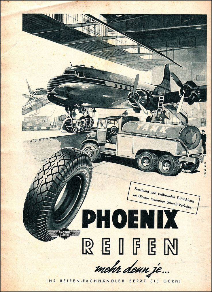 Phoenix PKW-Reifen AMS 1953