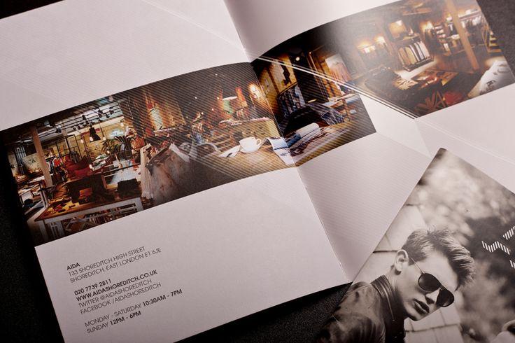 Lookbook Design for AIDA