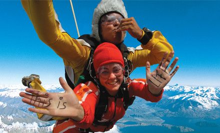 Take a leap into adventure and tick off the bucket list with a 15,000ft skydive experience in beautiful Wanaka. You'll take in stunning 360º...