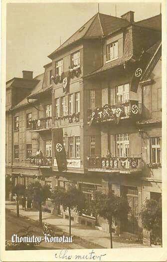 HINDENBURGSTRASSE - Později pak také Fichtestrasse pak Leninova až dnes pak Zborovská.