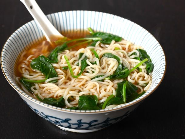 Made It: 30 ways to spice up your ramen! I used the egg drop method (which was awesome!) and I also added some red pepper flakes for a little bit of heat and some fresh chopped chives. Absolutely wonderful!