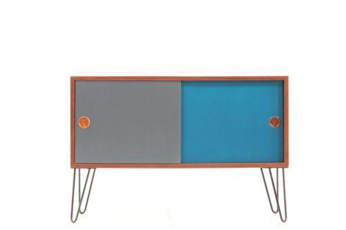 60er-TEAK-KOMMODE-DANISH-DESIGN-60s-VINTAGE-CABINET-CHEST-Kai ...