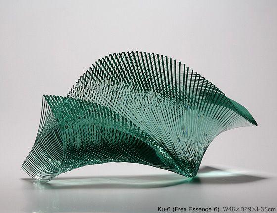 Yufuku Gallery : Artist - Ikuta Niyoko - Art Glass