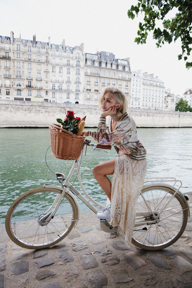 Sarah Ellen just landed a major campaign with Spell & The Gypsy Collective, shot in Paris.