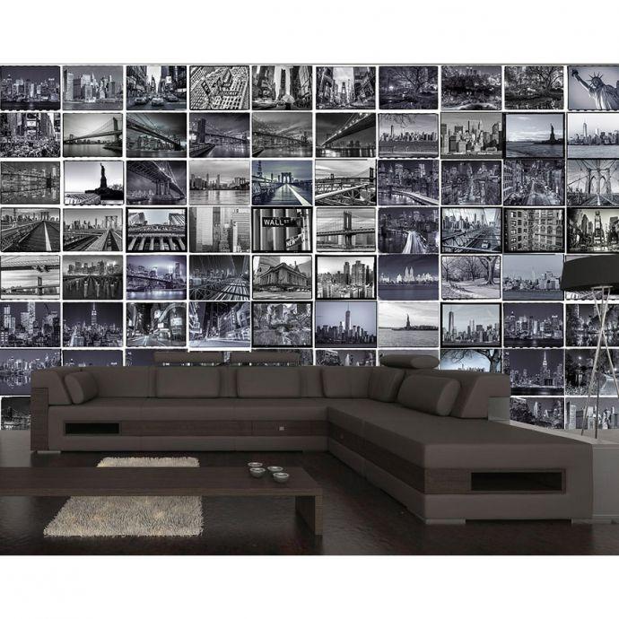 Creative Collage THE BIG APPLE – Falimatricák - ID Design Kiegészítők - Tapéták, matricák