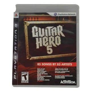 Juego PS3 Guitar Hero 5 Original - Juegos de Consola - TV, Consolas y Juegos - Tecnología - Sensacional