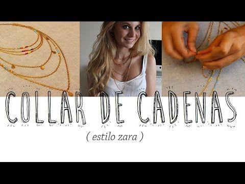haz tu propio collar!! DIY / Vikguirao - YouTube