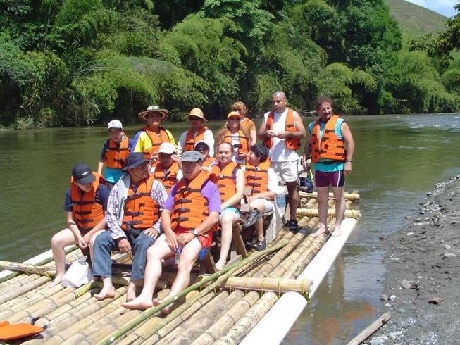 Balsaje por el Río La Vieja | Turismo Eje Cafetero