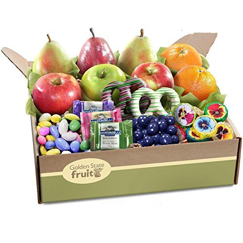 Golden State Fruit Springtime Festival Deluxe Fruit and Chocolate Gift Box