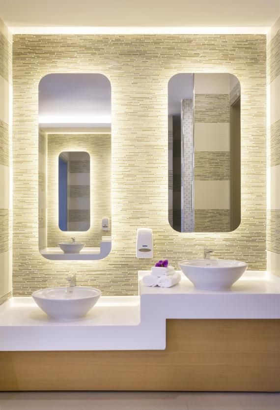 PHOTO TOUR: Aiyuhua Hospital for Children and Women in Beijing | Healthcare Design --- High-end finishes in the women's department create a spa-like environment. Photo: Blake Marvin/HKS Inc.