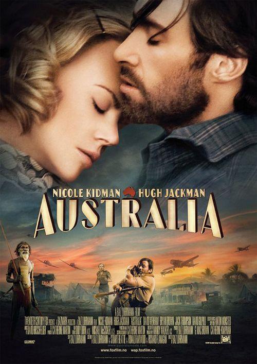 Nicole Kidman (Lady Sarah Ashley) & Hugh Jackman (Drover) - Australia directed by Baz Luhrmann (2008)