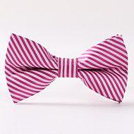 Paisley+Pink+Stripe+Bow+Tie+Formally+–+SEK+Kr.+47