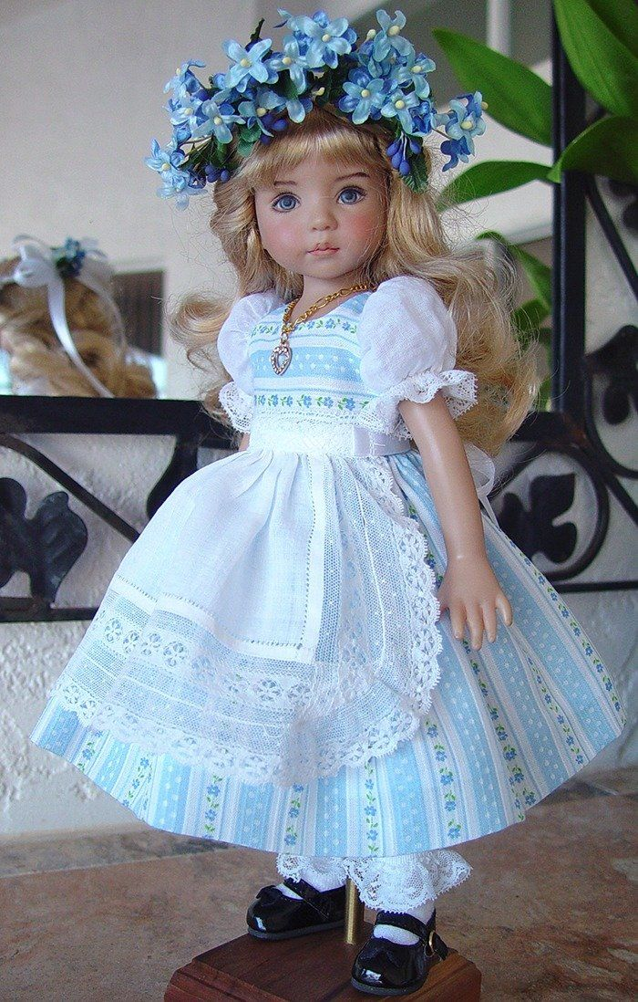 Dress with Hankie Apron from LittleCharmers sold for $85.00 on 11/5/14.