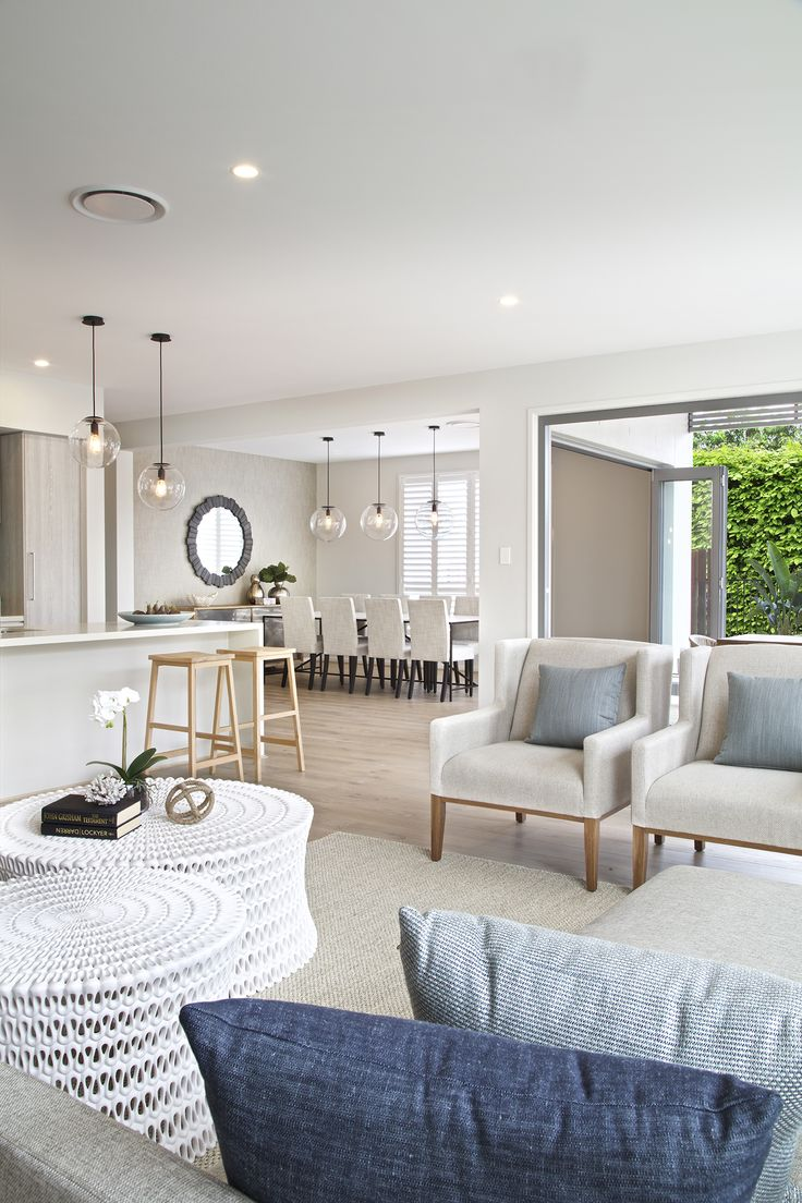 Clarendon Homes. Bayside 39. Family Room Looking Out Past The Kitchen Into  The Meals Area. | Interiors To Inspire | Pinterest | Beautiful, Home And  The Ou0027 ...