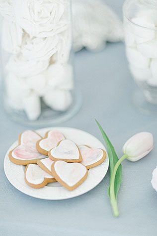 Утро невесты: завтрак балерины, печенье