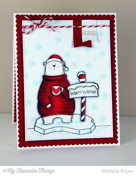 Cool Day, Blueprints 20 Die-namics - Michele Boyer #mftstamps