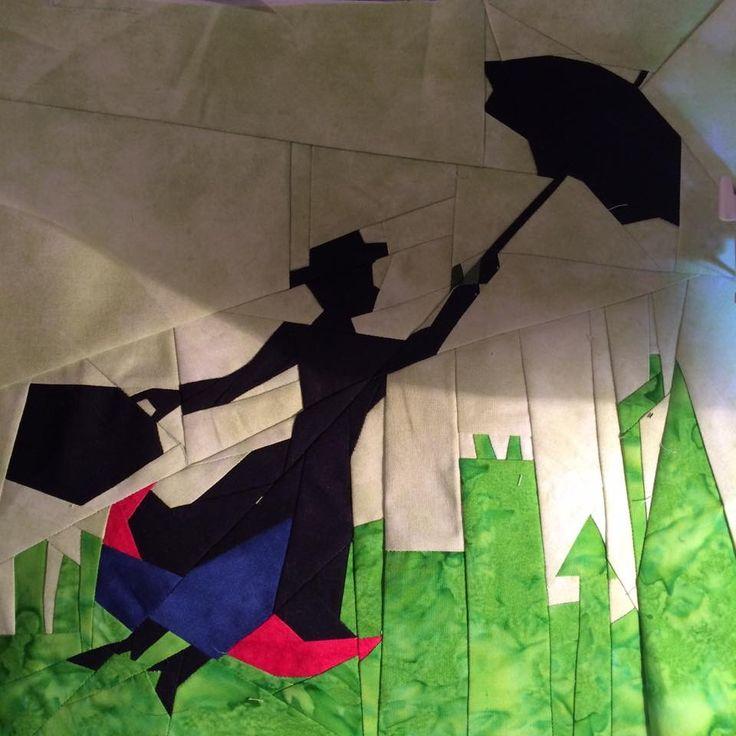 Broadway Series Mary Poppins Fandom In Stitches Quilt