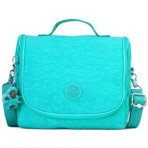 Lancheira Kichirou Cool Turquoise Kipling