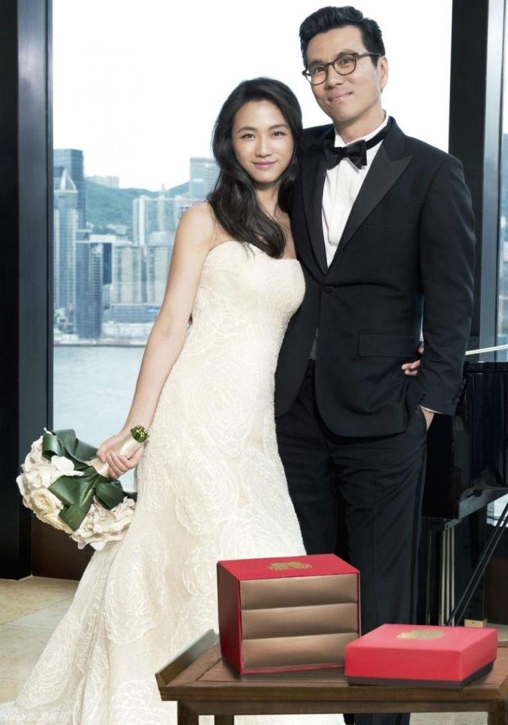 탕웨이 결혼식 사진