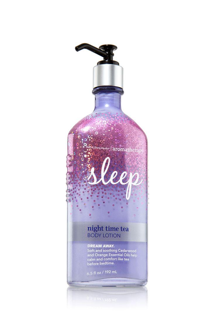 Sleep - Night Time Tea Body Lotion - Aromatherapy - Bath & Body Works  $ 13.00