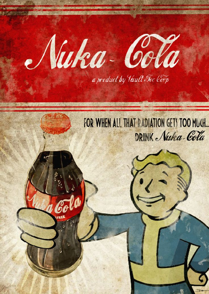 Nuke Cola Fallout Mini Fridge Wrap This is a premium vinyl cover for your Mini fridge. However, the final dimensions of the refrigerator sticker wrap are customized to fit your exact appliance. Please