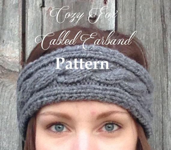 Now you can get our most popular earband from the comfort of your own home without the hassle of shipping! Our easy to follow instructions are perfect for beginners. Get just the look you want with this quick and cozy pattern.  Pattern is in PDF format.  Level: Easy