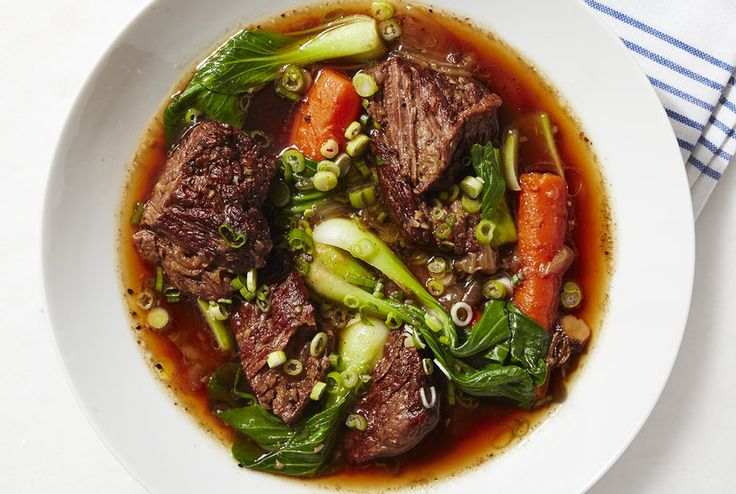 Get the recipe for Slow-Cooker Asian Short Rib Stew.