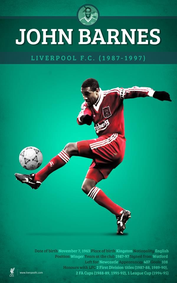 ♠ Happy 50th birthday to #LFC legend, John Barnes! #History #Legends