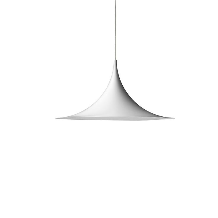 Semi Taklampe Ø47cm, Hvit, Gubi