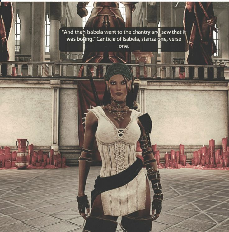 I must admit, I was not an Isabela fan when the game opened.  I have changed my mind.
