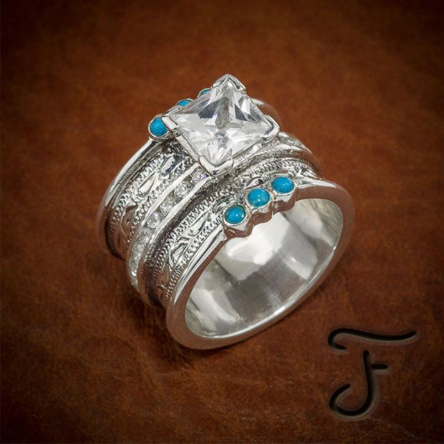 Custom Wedding Band - Custom Western Wedding Rings | Fanning Jewelry
