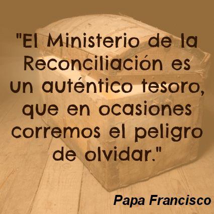 """#PapaFrancisco dice que nos olvidamos de importancia de la Confesión """"por pereza o por vergüenza, pero sobre todo por haber perdido el sentido del pecado."""""""