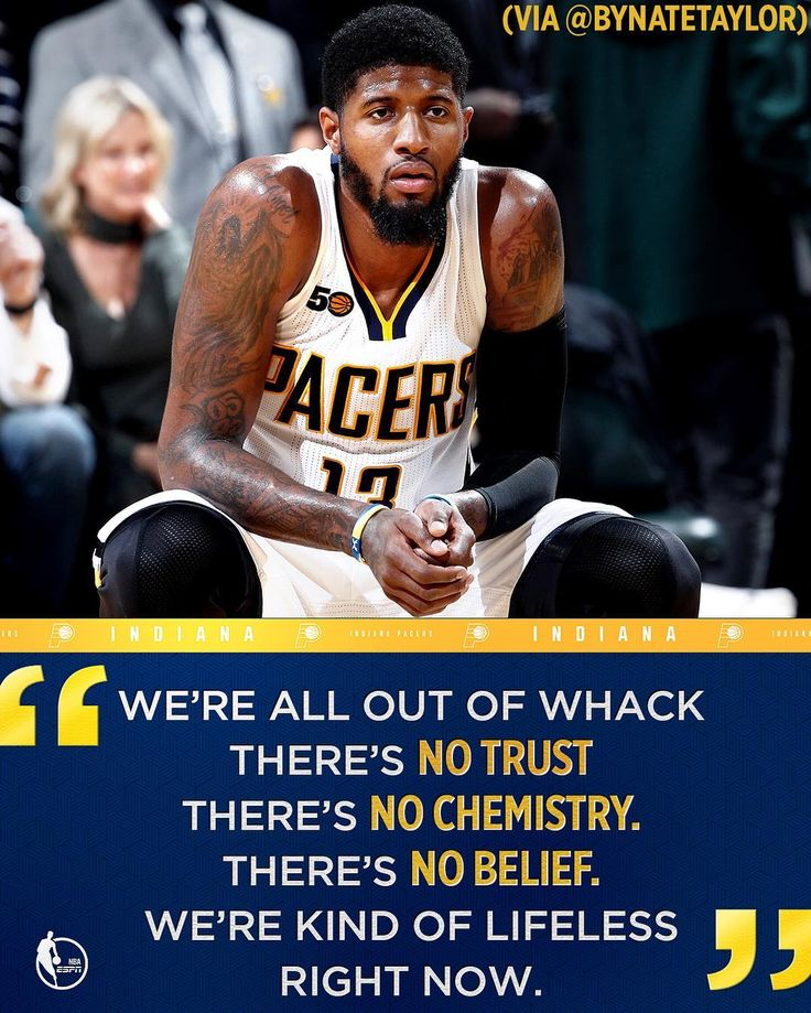 Paul George scored a season-low 10 pts tonight in a loss... What's up with the Pacers?