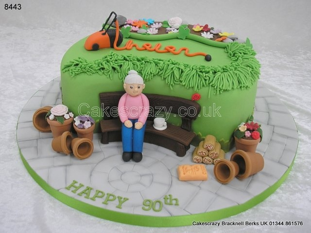 17 best images about ccc m f gardening on pinterest for Garden theme cake designs