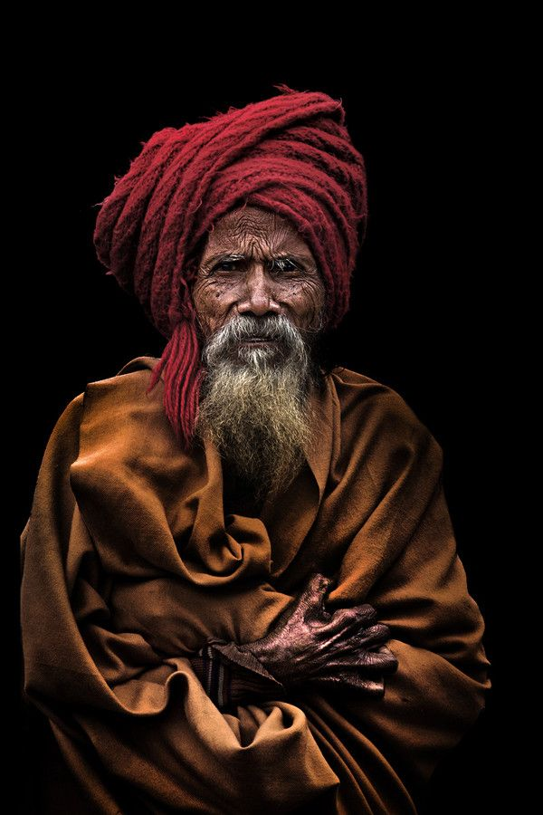 Between The Folds Of Life | Old Man In Orissa | India | Photo By Orpelli Massimiliano